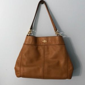 Coach leather Lexy shoulder bag